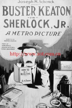 福尔摩斯二世 Sherlock, Jr. (1924)