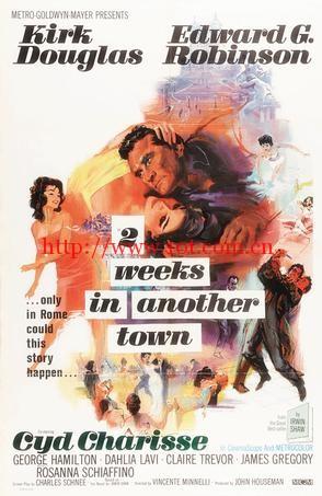 罗马之光 Two Weeks in Another Town (1962)