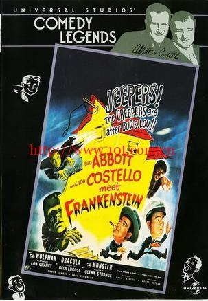 两傻大战科学怪人 Bud Abbott Lou Costello Meet Frankenstein (1948)