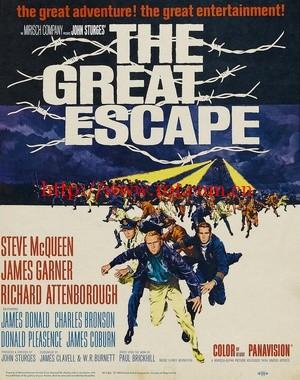 大逃亡 The Great Escape (1963)