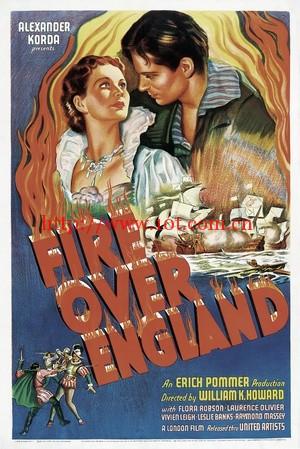 英伦战火 Fire Over England (1937)
