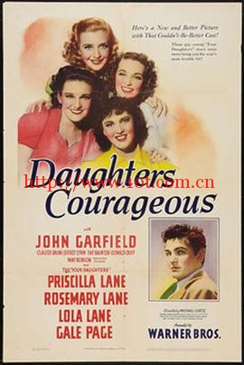 四千金续集 Daughters Courageous (1939)