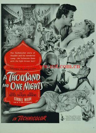一千零一夜 A Thousand and One Nights (1945)