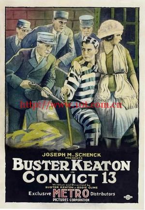 13号囚犯 Convict 13 (1920)