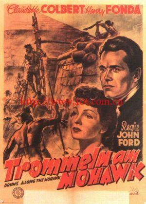 铁血金戈 Drums Along the Mohawk (1939)