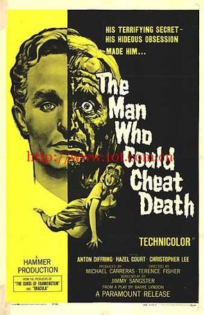 不死的男人 The Man Who Could Cheat Death (1959)