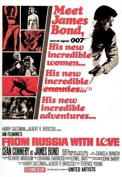 007之俄罗斯之恋 From Russia with Love (1963)