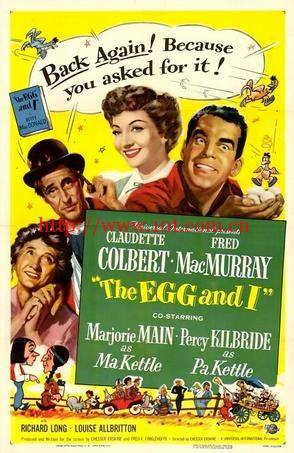 蛋与我 The Egg and I (1947)