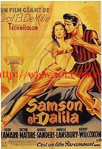 参孙和达莉拉 Samson and Delilah (1949)