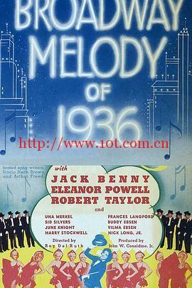 百老汇旋律1936 Broadway Melody of 1936 (1935)