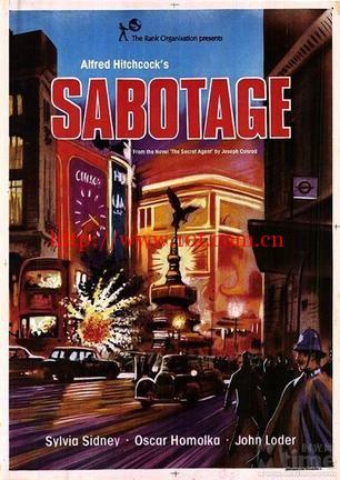 阴谋破坏 Sabotage (1936)
