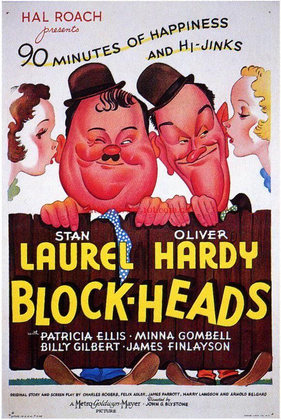 座头 Block-Heads (1938)