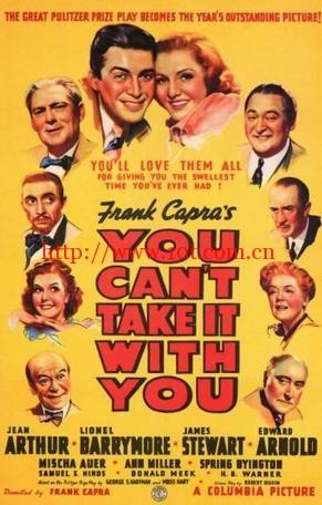 浮生若梦 You Can't Take It with You (1938)