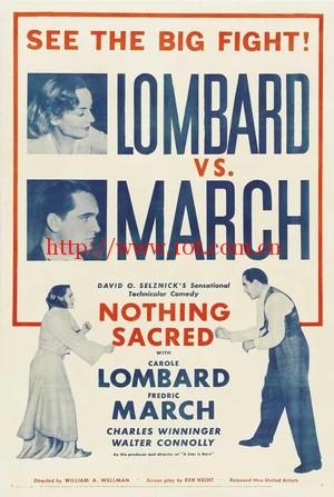 毫不神圣 Nothing Sacred (1937)