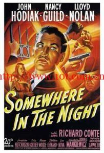 惊魂骇魄 Somewhere in the Night (1946)