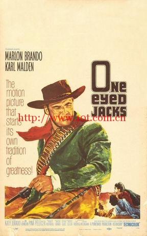 独眼龙 One-Eyed Jacks (1961)