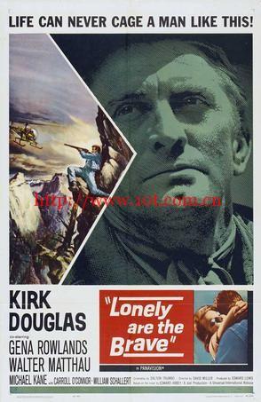 自古英雄多寂寞 Lonely Are the Brave (1962)