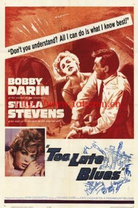 多情偏遇薄情郎 Too Late Blues (1961)