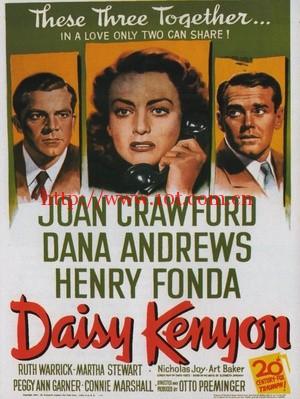 情迷意乱 Daisy Kenyon (1947)