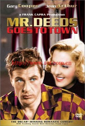 迪兹先生进城 Mr. Deeds Goes to Town (1936)