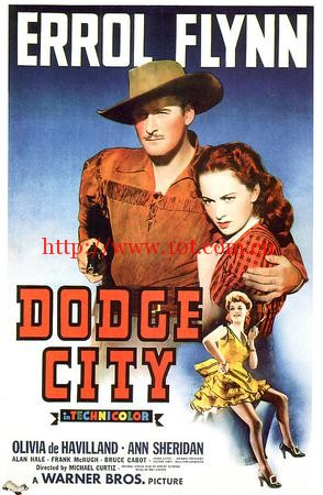 道奇城 Dodge City (1939)