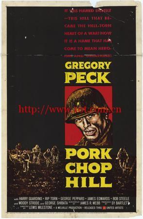 猪排山 Pork Chop Hill (1959)