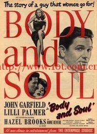 出卖灵肉的人 Body and Soul (1947)