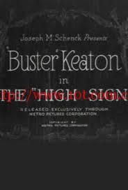 暗号 The 'High Sign' (1921)