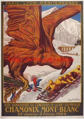 1924年在夏蒙尼举行的奥运会 The Olympic Games Held at Chamonix in 1924 (1925)