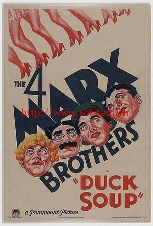 鸭羹 Duck Soup (1933)