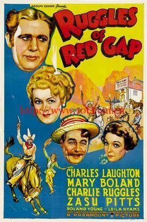 风雨血痕 Ruggles of Red Gap (1935)