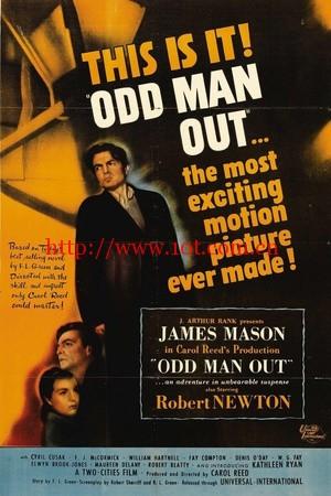 虎胆忠魂 Odd Man Out (1947)