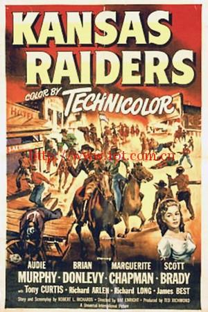 堪萨斯劫匪 Kansas Raiders (1950)