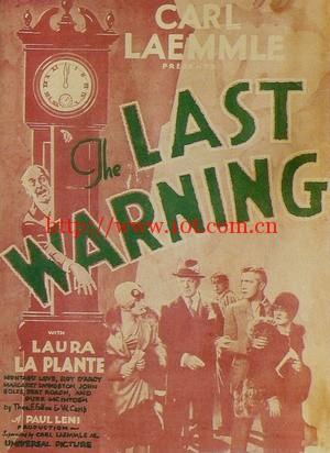 最后通牒 The Last Warning (1929)