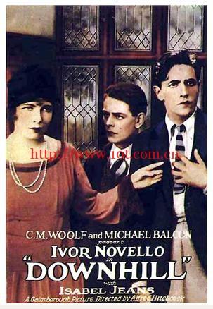 下坡路 Downhill (1927)