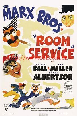 客房服务 Room Service (1938)