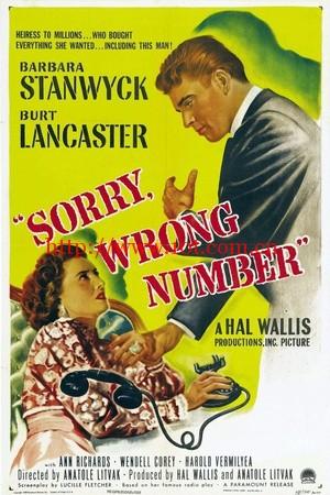 电话惊魂 Sorry, Wrong Number (1948)