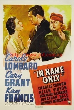 徒有其表 In Name Only (1939)
