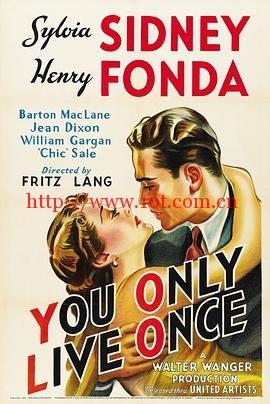 你只活一次 You Only Live Once (1937)