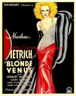 金发维纳斯 Blonde Venus (1932)