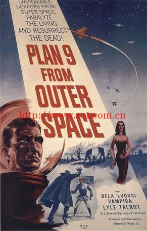 外太空计划9 Plan 9 from Outer Space (1959)