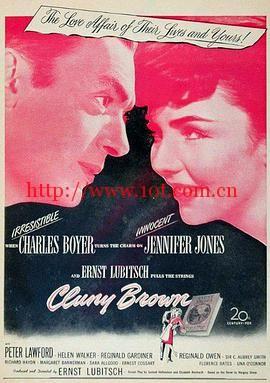 克朗内勃朗 Cluny Brown (1946)