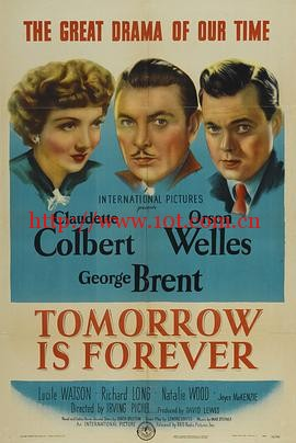 春闺泪痕 Tomorrow Is Forever (1946)