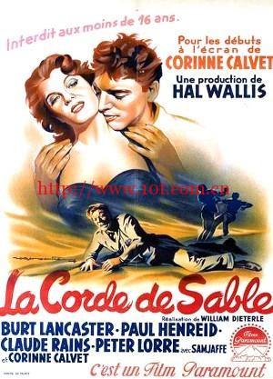 禁城喋血 Rope of Sand (1949)