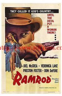 独臂屠龙 Ramrod (1947)