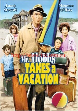 渡假留香 Mr. Hobbs Takes a Vacation (1962)