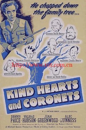 仁心与冠冕 Kind Hearts and Coronets (1949)
