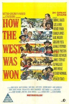 西部开拓史 How the West Was Won (1962)