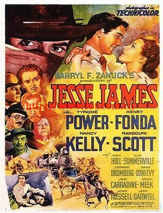 荡寇志 Jesse James (1939)