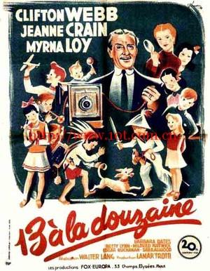 父亲大人 Cheaper by the Dozen (1950)